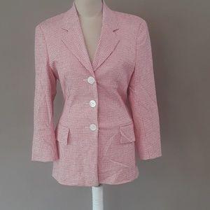 ESCADA pink and light cream blazer